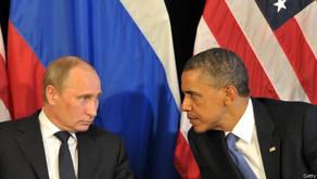 Entre a  crise da hegemonia americana e a intervenção russa na Crimeia.