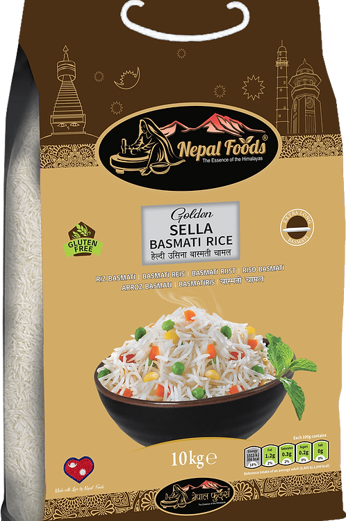 NEPAL FOODS GOLDEN SELLA 10kg