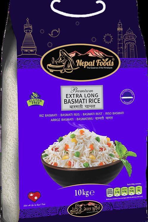 NEPAL FOODS EX LONG BASMATI 10kg