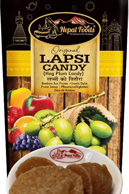 SWEET RED LAPSI CANDY 80g