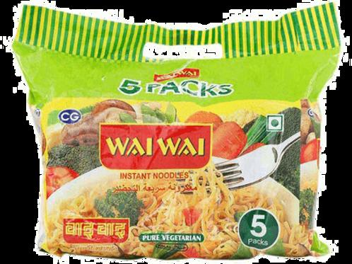 WAI WAI VEG X5