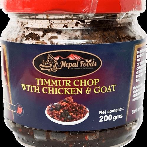 Timmur with Chicken & Goat 200g