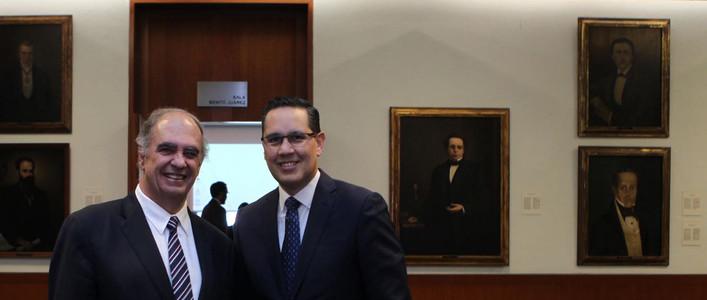 Conversatorio con Juez Antônio Cançado Trindade (CIJ)