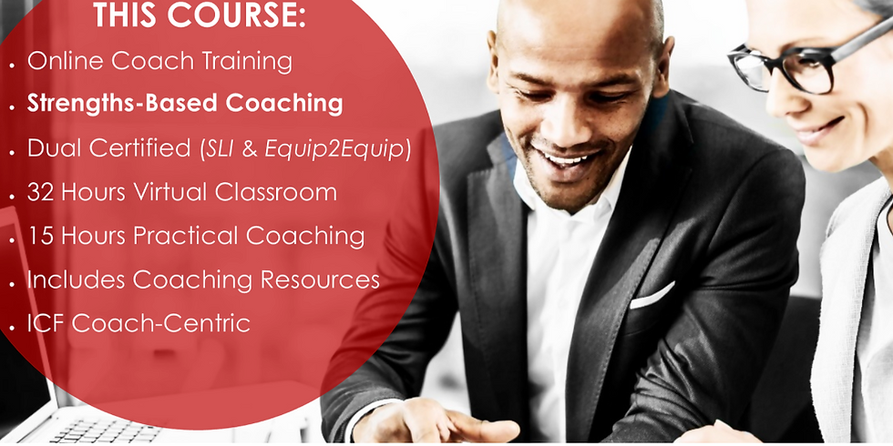 Become a Certified Strengths Coach & learn the Language of Strengths
