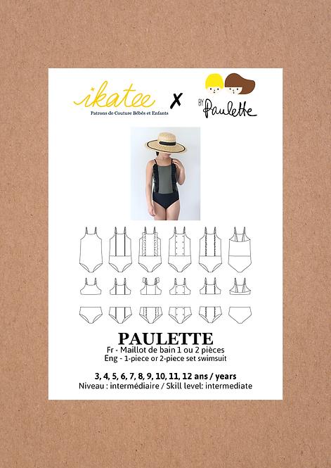 Patron Ikatee PAULETTE Maillot de bain 3-12A