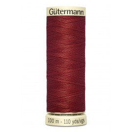 Fil à coudre Gütermann polyester 100 m Gamme Rouge