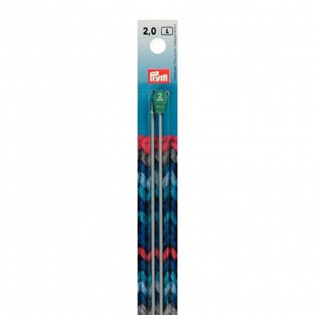 Aiguille à tricoter aluminium 35cm Prym