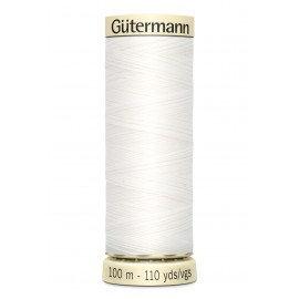 Fil à coudre Gütermann polyester 100 m Gamme Monochrome