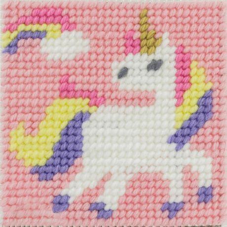 Kit canevas enfant la fée licorne