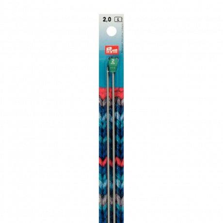 Aiguille à tricoter aluminium 40cm Prym