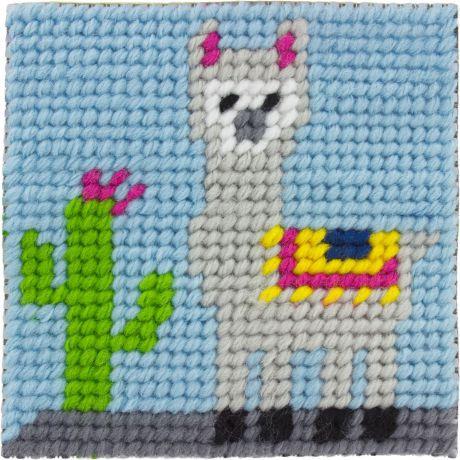 Kit canevas enfant Joshua le lama