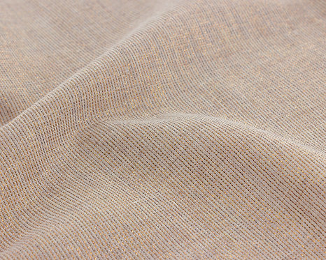 Tissu lurex cuivrée 12,90€/m
