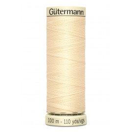 Fil à coudre Gütermann polyester 100 m Gamme Jaune Orange
