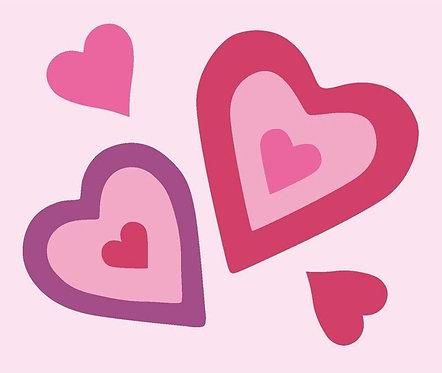 Kit canevas enfant Coeur