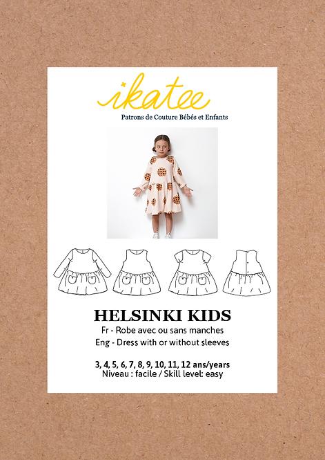 Patron Ikatee HELSINKI Kids Robe 3-12A
