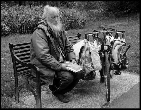 'Cyril's Luggage Bike' by Margot Hesketh, CB Camera Club