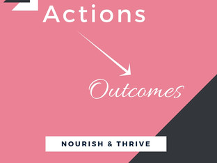 Actions --> Outcomes