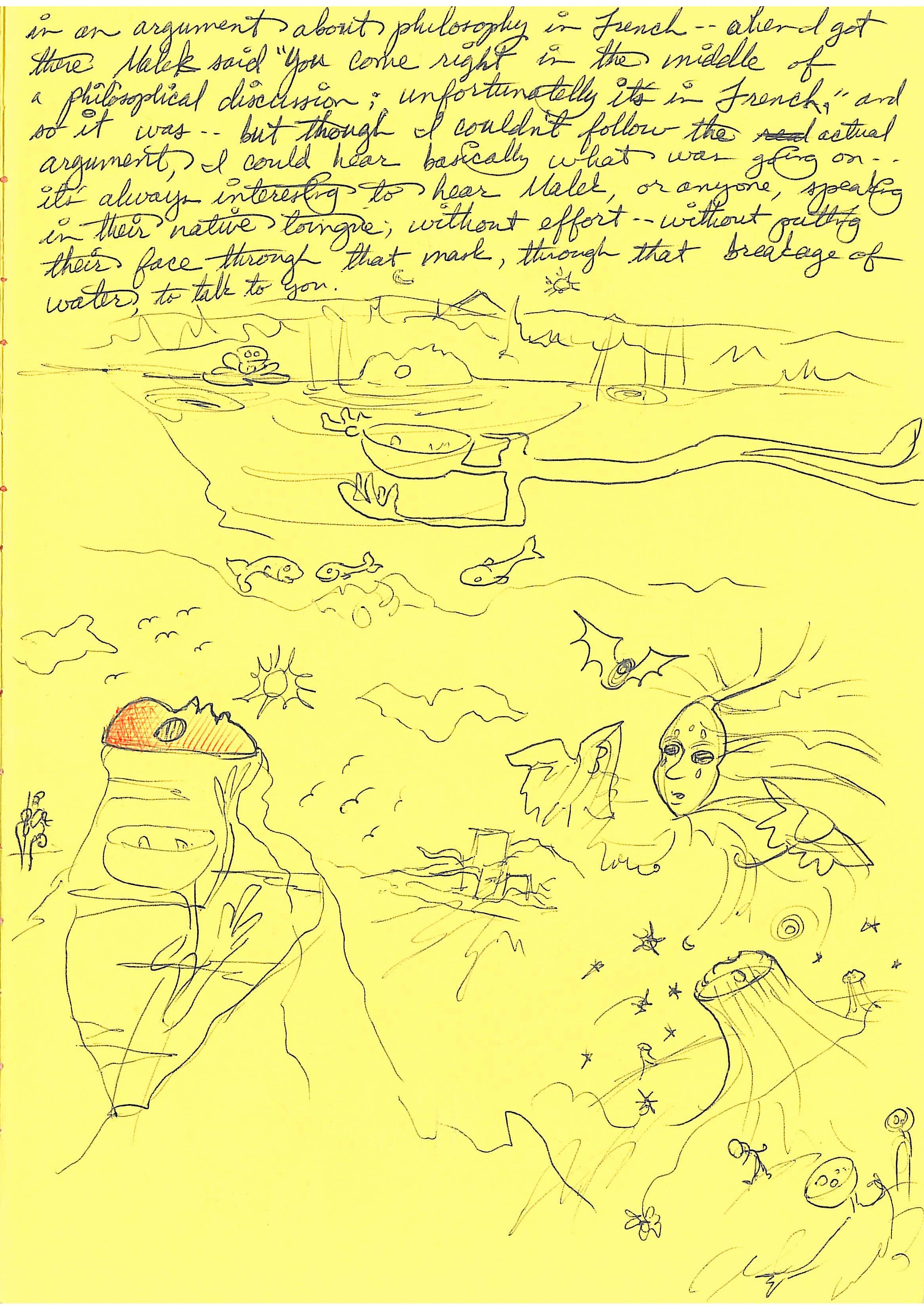 sketches from yellow paper 1