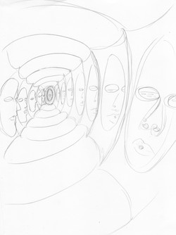 """early sketch for """"the tunnel"""""""