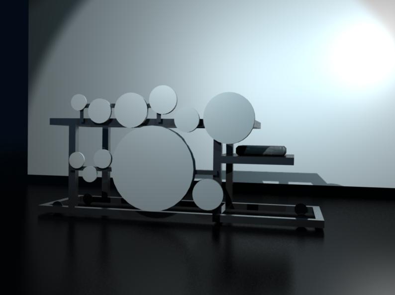 3D Model, continued