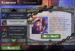Campaign Screen, Locked