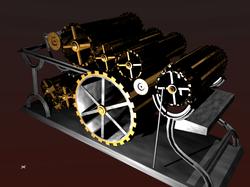 Mechanical Printing Press