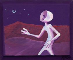 """Mysterious Walker"" 2004"