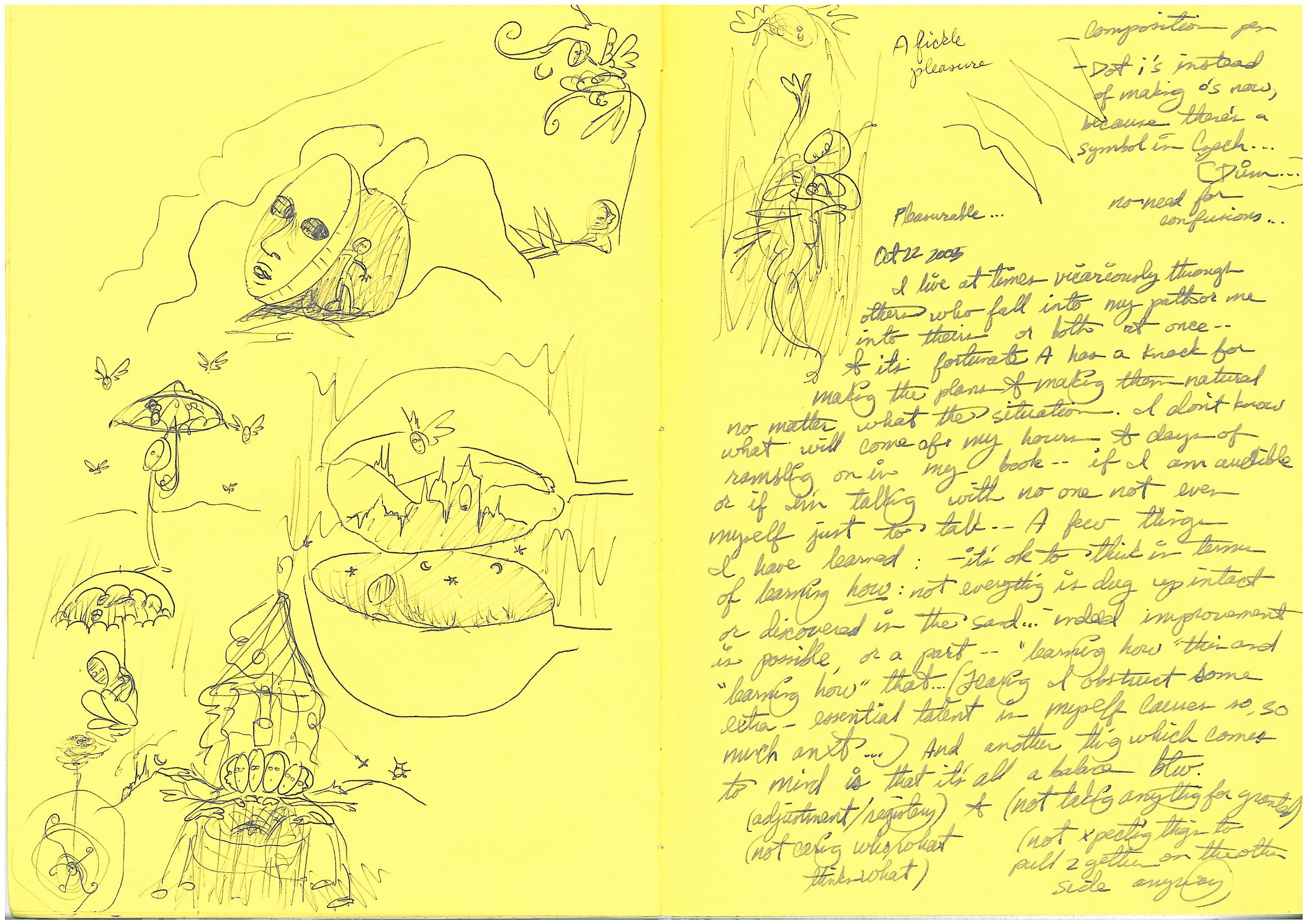 sketches from yellow paper 2
