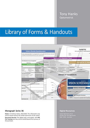 Library of optometry forms