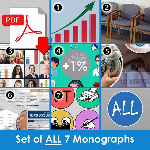 Set of ALL 7 Monographs