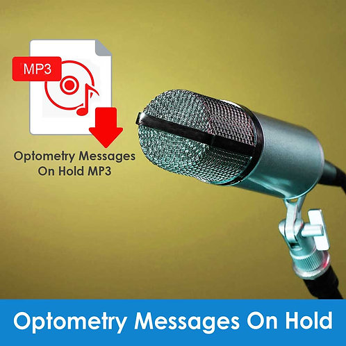 MP3 - Optometry Messages On Hold