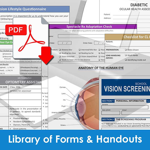 Monograph 6 - Library of Forms and Handouts