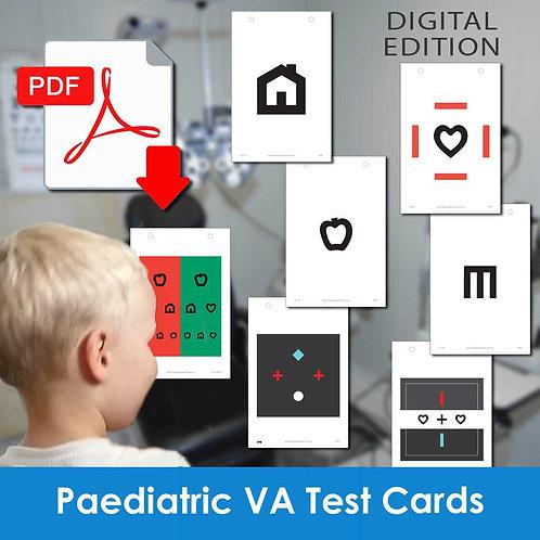VA Series 3 - Paediatric Visual Acuity Test Cards