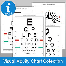 Visual Acuity Chart Collection