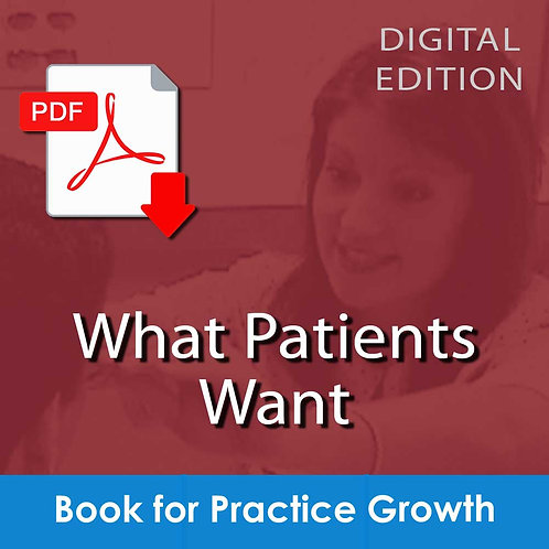 What Patients Want - Download
