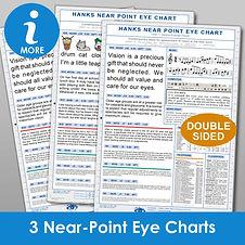 Hanks Near Eye Charts