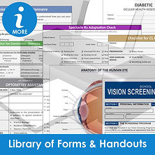 Library of Optometry Forms and Handouts