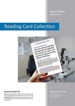 Reading Card Collection