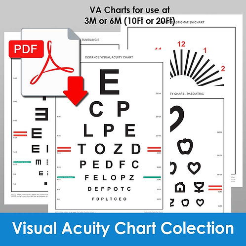 Monograph 7 - Visual Acuity Chart Collection