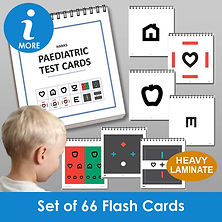 Paediatric Eye Test Cards
