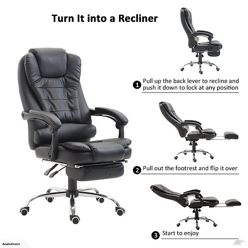 Ergonomic massage office chair