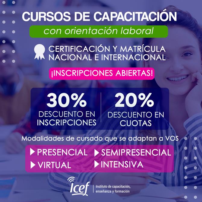 Instituto de Capacitación, enseñanza y formación
