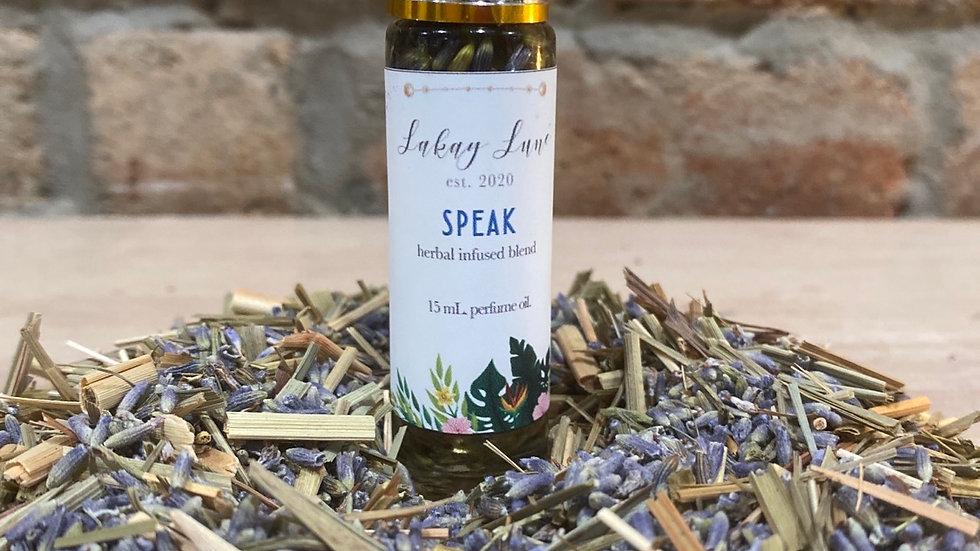 Speak Perfume Oil