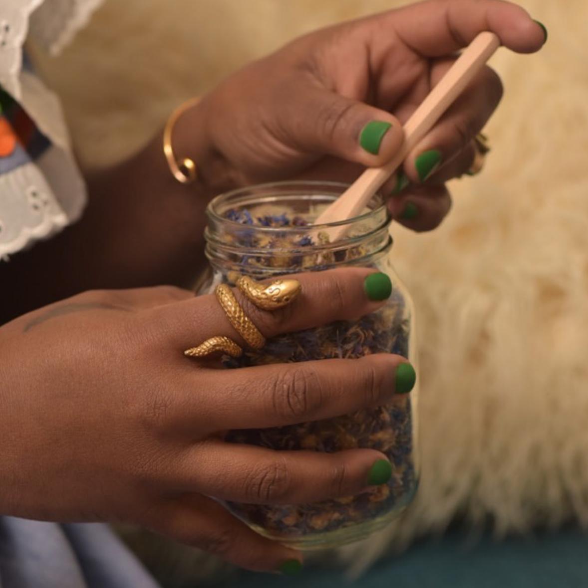 Custom Herbal Blend & Ritual Creation