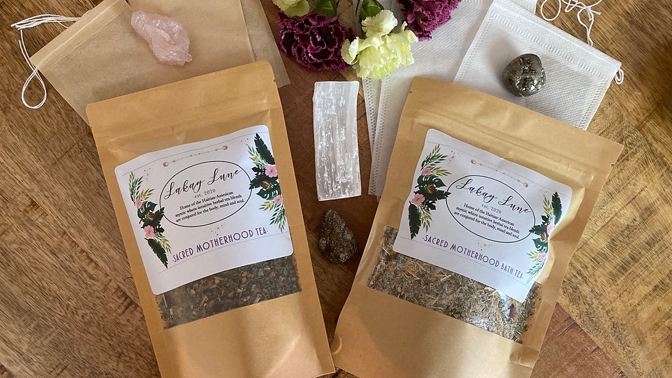 Sacred Motherhood Bundle (Bath & Tea)