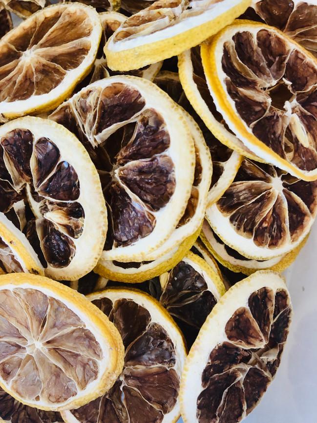 Citron déshydratés