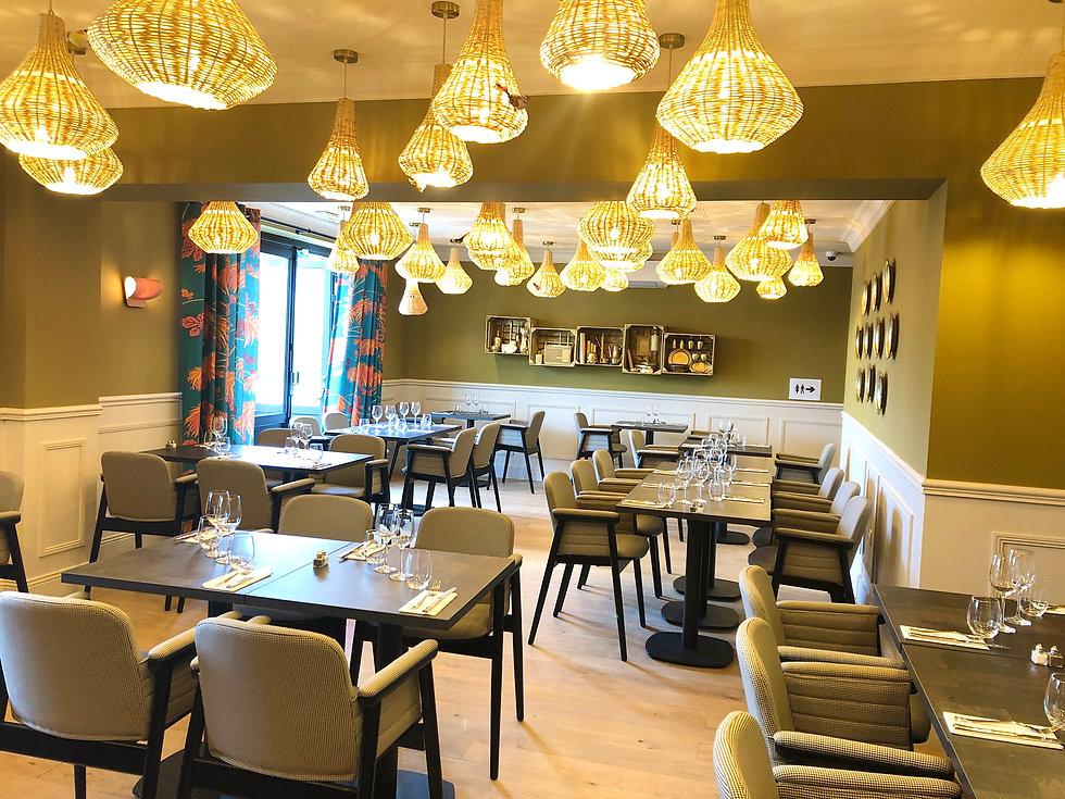 Salle Restaurant Café Rostand