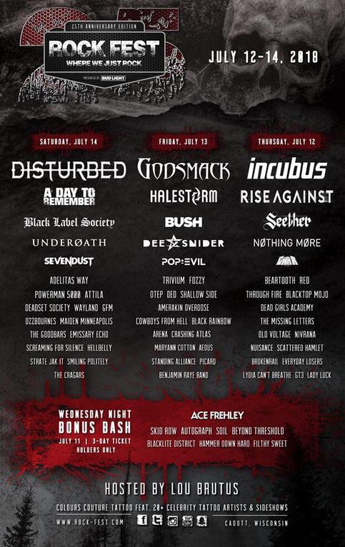 The GooDBarS at Rockfest - Saturday, July 14