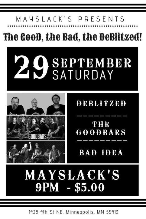Gig - Sept 29, 2018 - Mayslack's - Minneapolis, MN