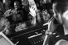 Party DJ B&W